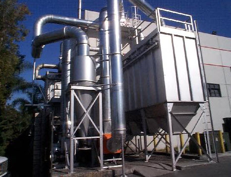 Dust collector cyclomax